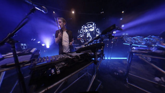 "imagen Mira un video interactivo en 360° de Disclosure tocando ""Latch"" en Central Park"