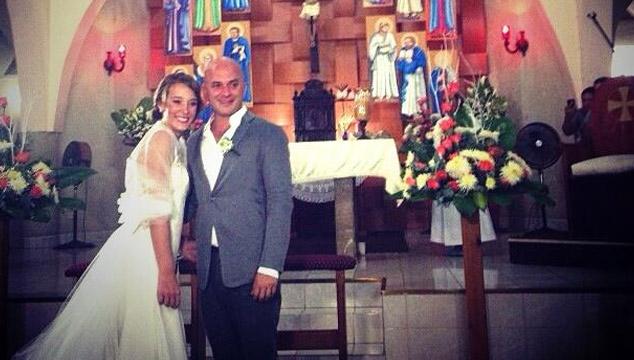 imagen Las fotos de la boda de 'El Enano' de Caramelos de Cianuro y Sabrina Salvador