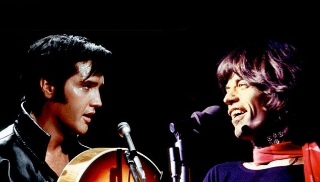 imagen Mick Jagger producirá película sobre Elvis Presley