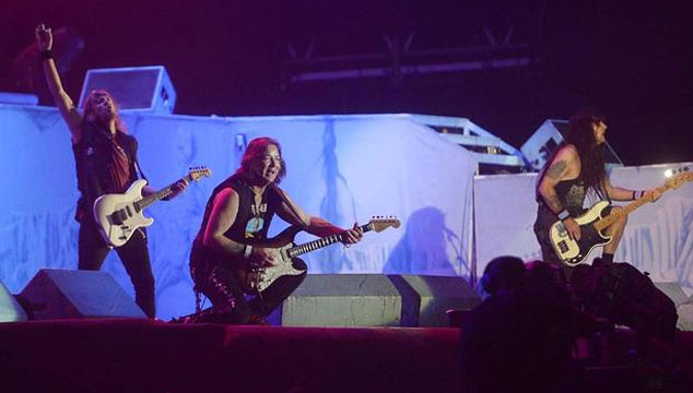 imagen Así cerró Iron Maiden Rock in Río 2013 (VIDEO)