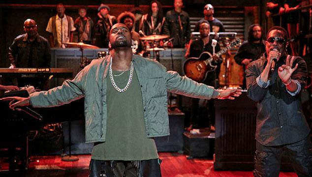 "imagen Kanye West toca ""Bound 2"" en Late Night with Jimmy Fallon junto a un coro de niños (VIDEO)"
