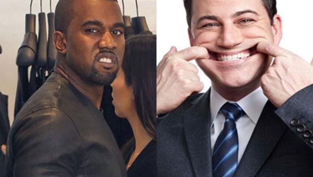imagen Kanye West vs. Jimmy Kimmel: toda la pelea (VIDEOS)