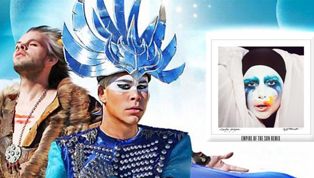 "imagen Escucha el remix de Empire of the Sun a ""Applause"" de Lady Gaga"