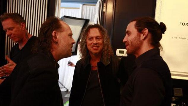 imagen La foto de Edgar Ramírez con Metallica