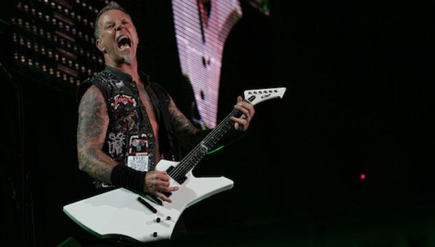 imagen Así fue el aplastante show de Metallica en 'The Colbert Report' (VIDEOS)