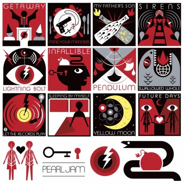 Pearl Jam arte tracklist