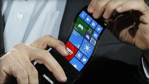imagen Samsung lanzará smartphone de pantalla curva en Octubre