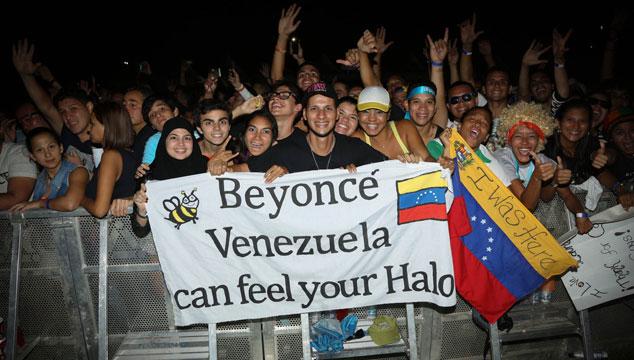 imagen Beyoncé publica fotos de su visita a Caracas