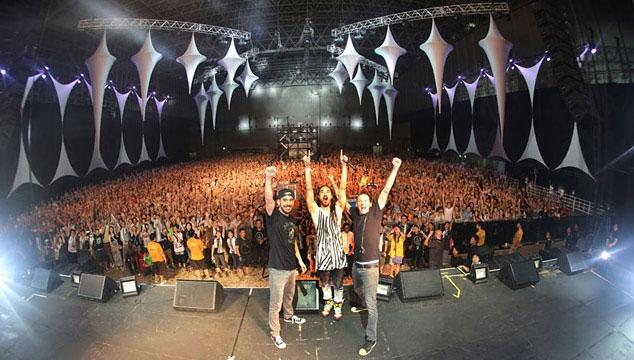 imagen Linkin Park estrena tema en colaboración con Steve Aoki en un videojuego y anuncia nuevo disco