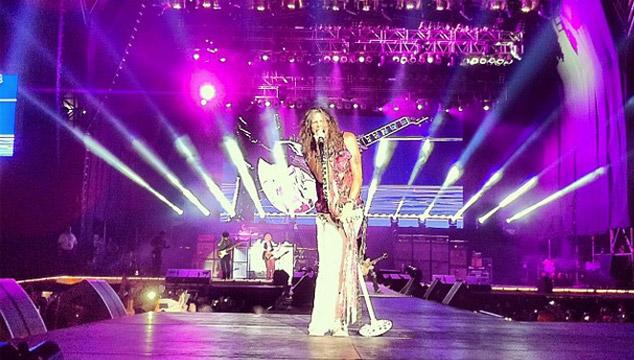 imagen Así fue el concierto de Aerosmith en Venezuela (FOTOS + VIDEOS)