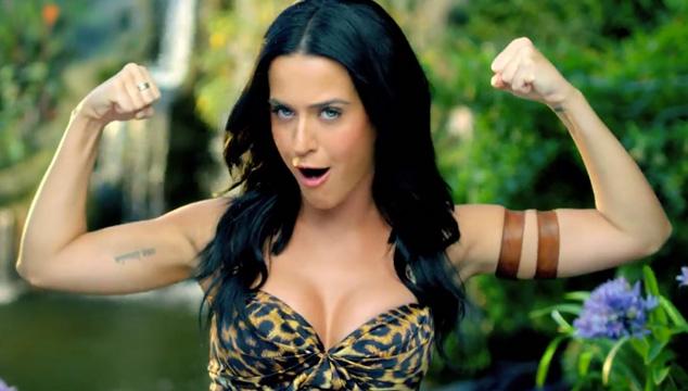 """imagen Katy Perry estrena el videoclip oficial de """"Roar"""""""
