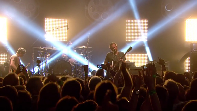 imagen Mira el show completo de Kings Of Leon en American Express Unstaged (VIDEO)