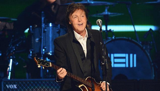 imagen Paul McCartney estrena dos temas nuevos en vivo (VIDEOS)