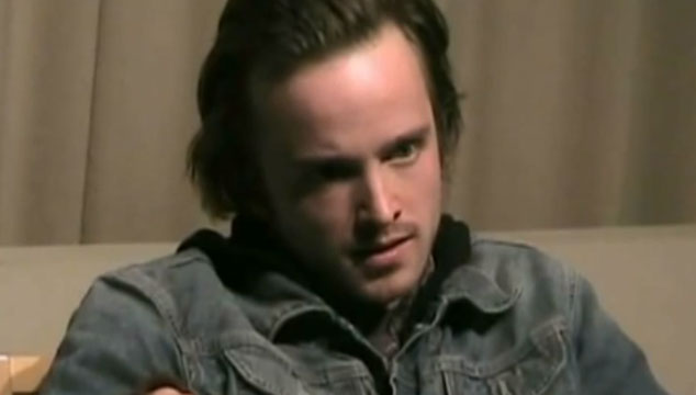 imagen Publican video de la audición de Aaron Paul para el papel de Jesse Pinkman en 'Breaking Bad'