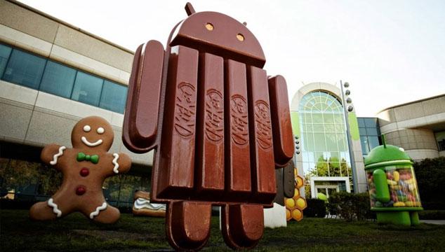 imagen Se filtran imágenes del nuevo sistema operativo Android 4.4 KitKat