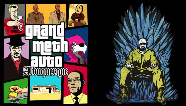 imagen ¿Qué pasaría si 'Breaking Bad' se mezcla con una serie, película o videojuego? (ILUSTRACIONES)