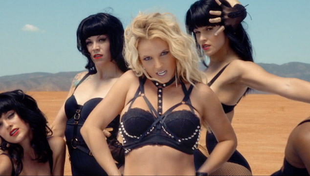 """imagen Britney Spears estrena el videoclip de """"Work Bitch"""""""