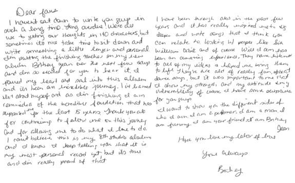 Carta Britney