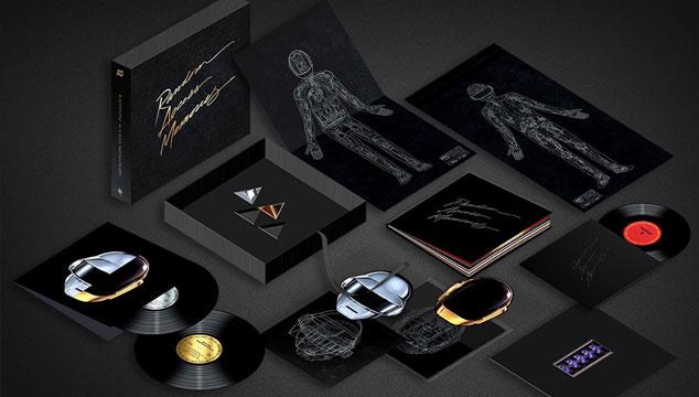 imagen Daft Punk revela los detalles de la edición de lujo de 'Random Access Memories'