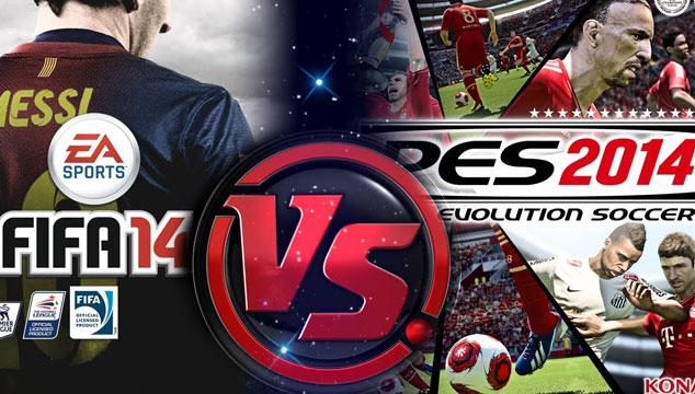 imagen FIFA 14 vs. PES 2014 ¿Cuál comprar?