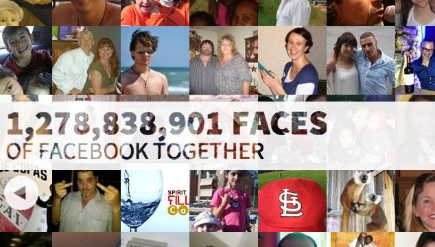 imagen Así se ven todas las fotos de perfil de Facebook en una sola página web
