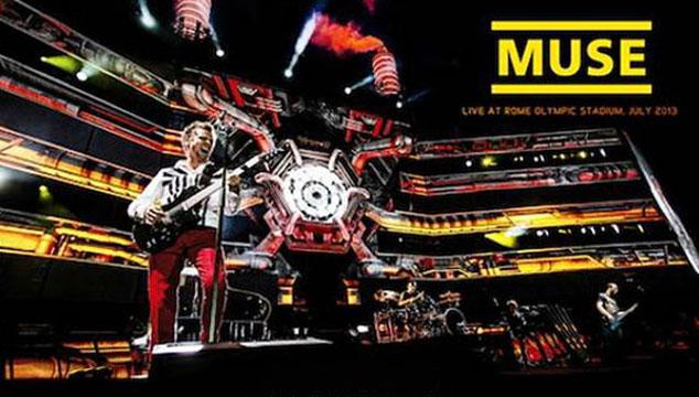 imagen Mira el tráiler de la nueva película en vivo de Muse grabada en ultra alta definición