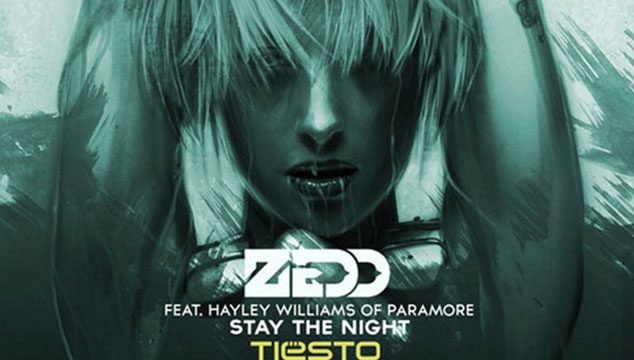 "imagen Tiësto remezcla ""Stay The Night"" de Zedd y Hayley Williams (AUDIO)"