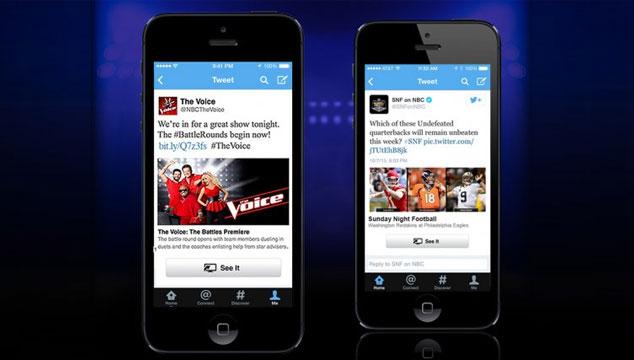 imagen Twitter incluirá botón para ver programas de televisión en streaming