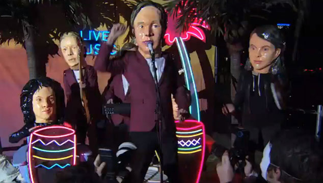 imagen Parte del show especial de Arcade Fire transmitido en Jimmy Kimmel Live! (VIDEO)