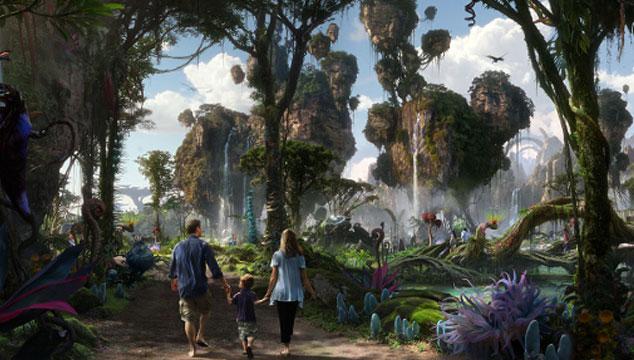 imagen El mundo de Avatar será recreado en un parque temático de Disney (VIDEO)