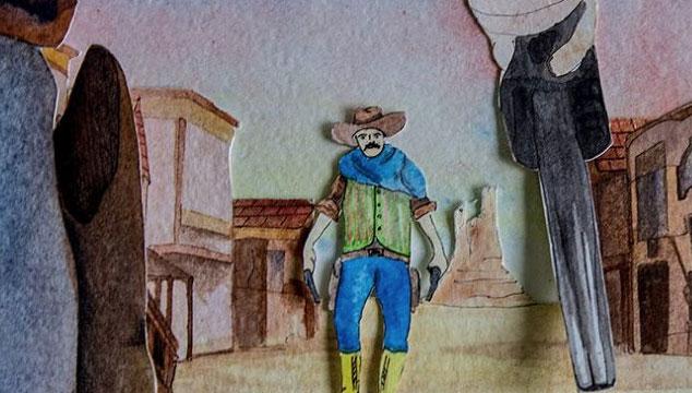 """imagen Club Nuclear estrena su videoclip """"A Fistfull of Dollars"""", un western protagonizado por marionetas"""