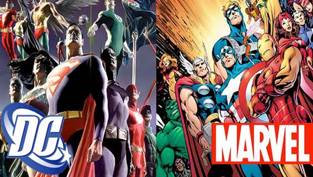 imagen La batalla de los Superhéroes por la taquilla: Marvel vs DC