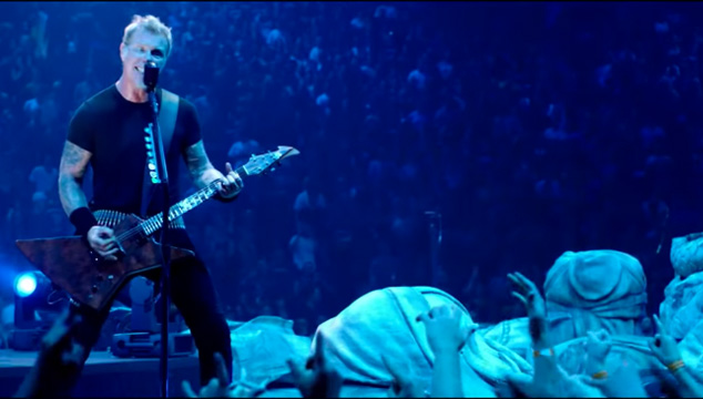 imagen Ya se estrenó la película/concierto 3D de Metallica en Venezuela: 'Through the Never'
