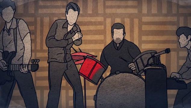 "imagen Keane estrena el videoclip animado de ""Higher than the sun"""