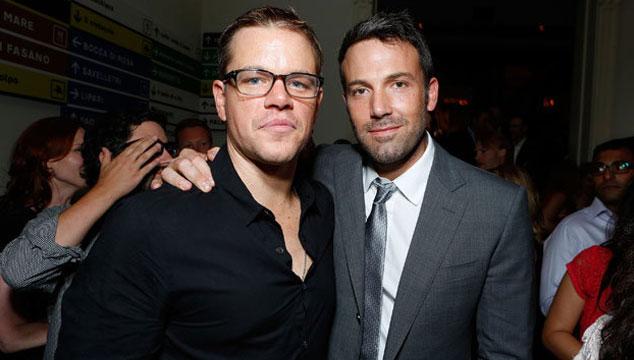 imagen CBS compra una comedia de Ben Affleck y Matt Damon
