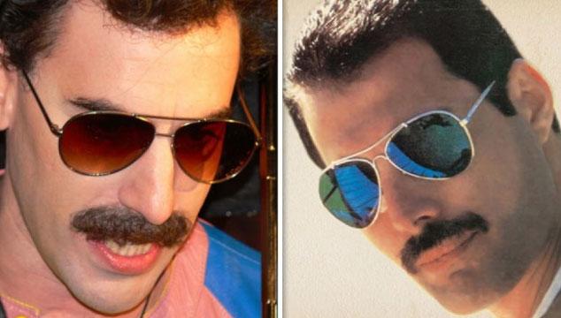 imagen Brian May explica por qué Sacha Baron Cohen no protagonizará la película de Freddie Mercury