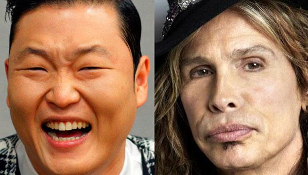 imagen La nueva canción de Psy será junto a Steven Tyler de Aerosmith
