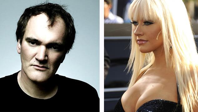 imagen Quentin Tarantino podría estar detrás de Christina Aguilera