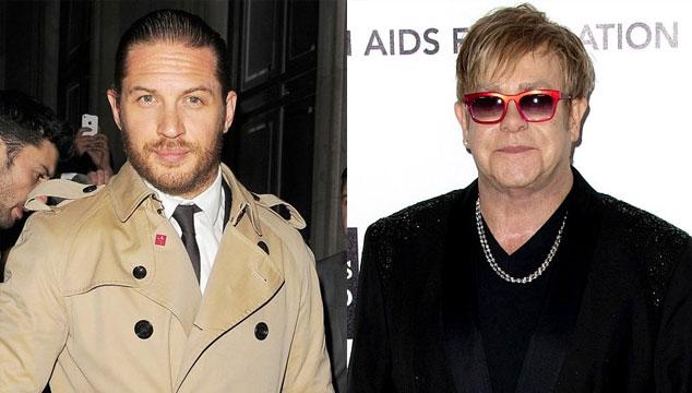 imagen Tom Hardy encarnará a Elton John en la película 'Rocketman'