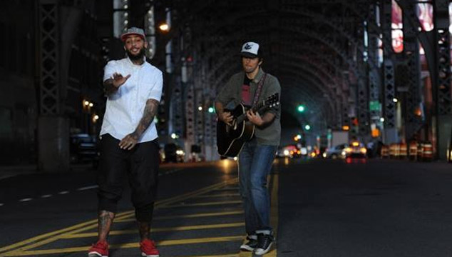 "imagen Travie McCoy y Jason Mraz estrenan el videoclip de su tema ""Rough Water"""