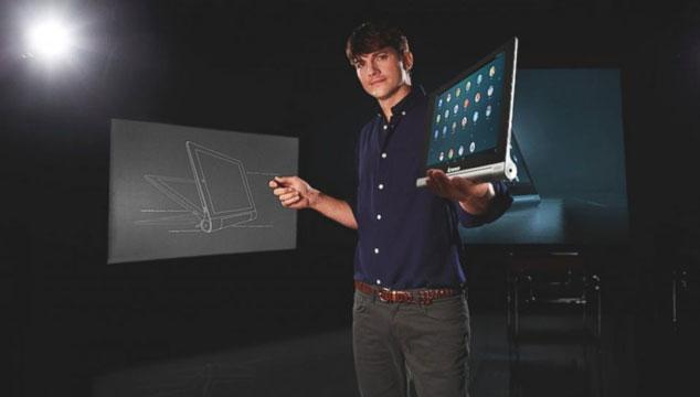 imagen Ashton Kutcher es el nuevo ingeniero de Lenovo
