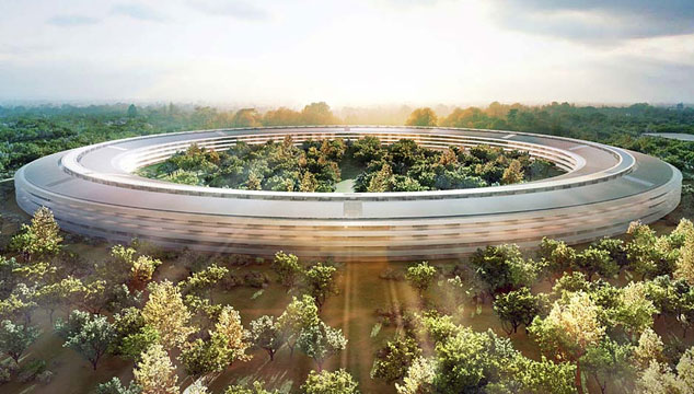 imagen Aprueban el proyecto de 'oficinas galácticas' de Apple