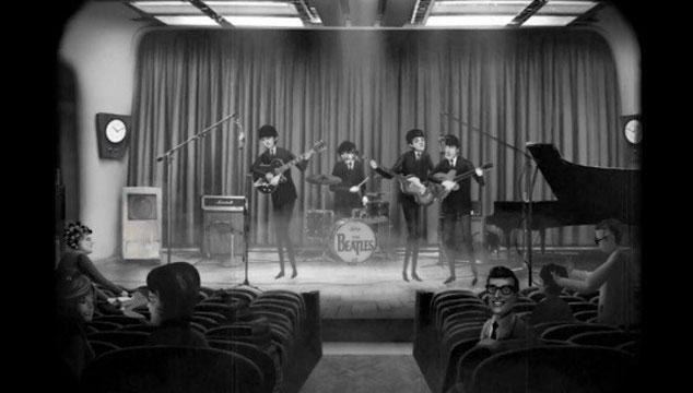 """imagen Estrenan nuevo y entrañable videoclip animado de The Beatles para el tema """"Words of Love"""""""