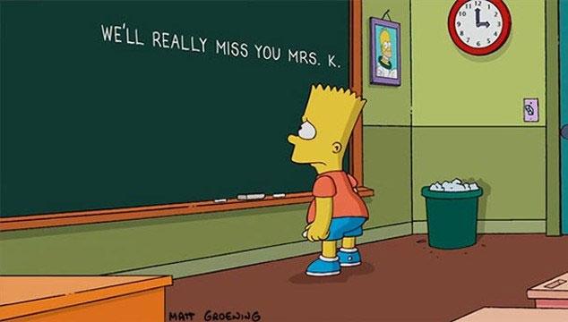 imagen El emotivo homenaje a la fallecida Marcia Wallace (Edna Krabappel) en 'Los Simpsons' (VIDEO)