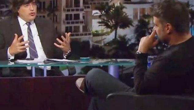 """imagen Luis Chataing en el programa de Jaime Bayly: """"Quiero que mi hijo sea venezolano"""" (VIDEO)"""