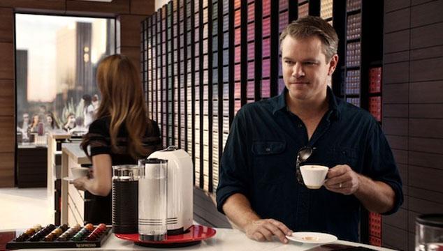 imagen Matt Damon ganó 150 mil dólares por segundo por aparecer en un comercial junto a George Clooney