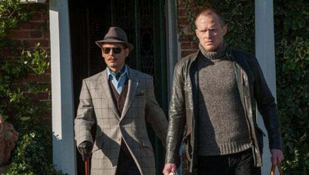 imagen Así se verá Johnny Depp en 'Mortdecai', su nueva película (FOTOS)
