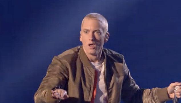 imagen Eminem cantó dos temas en los EMA's 2013 (VIDEO)