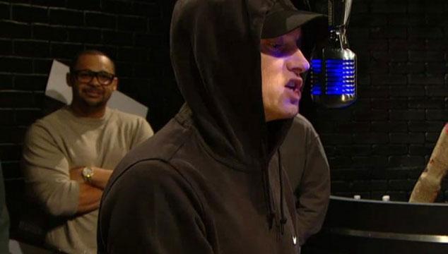 imagen Eminem hace un increíble freestyle en Rap City (VIDEO)