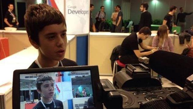 imagen Google contrata a un niño griego de 12 años para su equipo de programadores